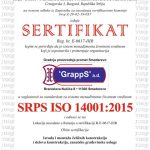 SPRS ISO 14001:2015