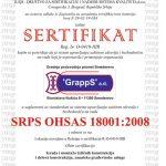 SRPS ISO 18001:2008